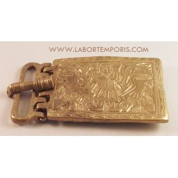 merovingian belt buckle