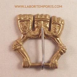 medieval belt buckle