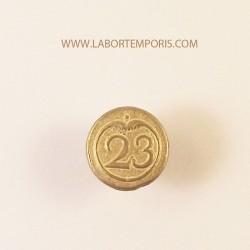Bottone militare francese