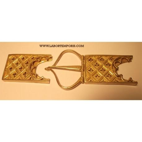 set cintura visconti XIV secolo