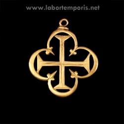 Medieval cross pendant