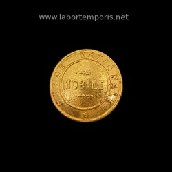 French military button